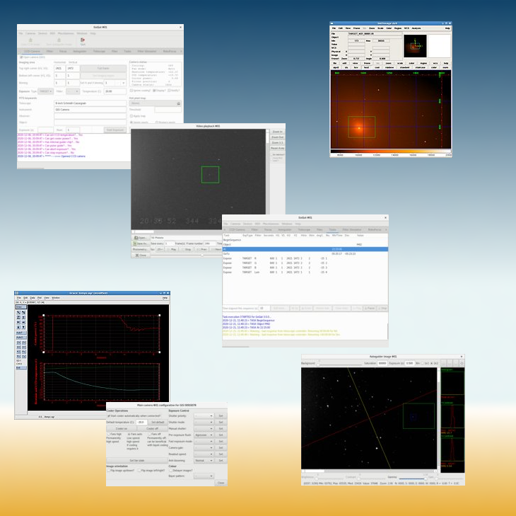 GoQat - Linux software for astronomy hardware